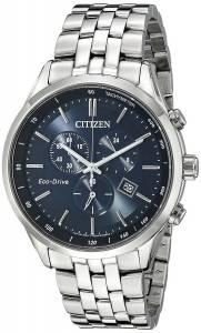 [シチズン]Citizen  SilverTone Stainless Steel Watch with Link Bracelet AT2141-52L メンズ