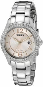 [シチズン]Citizen 腕時計 EcoDrive Silhouette Crystal Watch FE1140-86X レディース