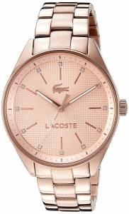 [ラコステ]Lacoste  Philadelphia Analog Display Japanese Quartz Rose Gold Watch 2000899