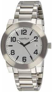 [ブローバ]Bulova 腕時計 Caravelle New York ThreeHand Stainless Steel watch 43B142 メンズ