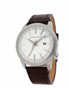 [モーメンタム]Momentum  LOGIC SS Analog Display Japanese Quartz Brown Watch 1M-SP10W2C