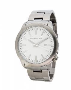 [モーメンタム]Momentum  LOGIC SS Analog Display Japanese Quartz Silver Watch 1M-SP10W0