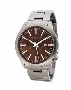 [モーメンタム]Momentum  LOGIC SS Analog Display Japanese Quartz Silver Watch 1M-SP10C0