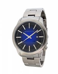 [モーメンタム]Momentum  LOGIC SS Analog Display Japanese Quartz Silver Watch 1M-SP10U0