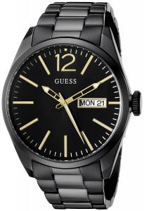 [ゲス]GUESS 腕時計 VintageInspired Black IonPlated Watch U0657G2 メンズ [並行輸入品]
