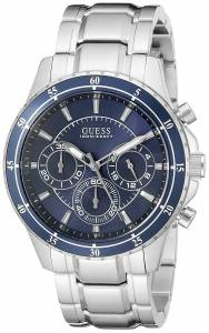 ゲスGUESS腕時計 GUESS Men's U0676G2 Stainless Steel Chronograph Watch