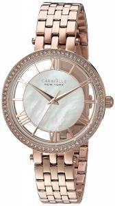[ブローバ]Bulova  Quartz Stainless Steel Casual Watch, Color:Rose GoldToned 44L171