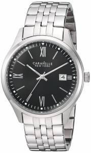[ブローバ]Bulova  Quartz Stainless Steel Casual Watch, Color:SilverToned 43B144 メンズ