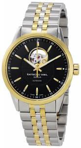 [レイモンドウィル]Raymond Weil Freelancer Black Dial Twotone Stainless Steel 2710-STP-20021