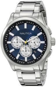[ノーティカ]Nautica 腕時計 NCT 17 Analog Display Quartz Blue Watch NAD19533G メンズ