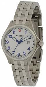[ウェンガー]Wenger 腕時計 TerraGraph Stainless Steel Watch 72790S 34825 [並行輸入品]