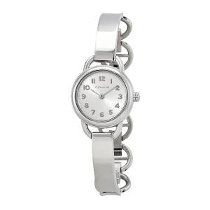 [コーチ]Coach 腕時計 Dree Silver Tone Half Bangle Watch 14502113 レディース
