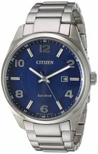 [シチズン]Citizen 'EcoDrive' Quartz Stainless Steel Casual Watch, Color: SilverTone BM7320-52L