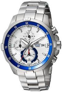 [カシオ]Casio  'EDIFICE' Quartz Stainless Steel Casual Watch, Color:SilverToned EFM-502D-7AVCF