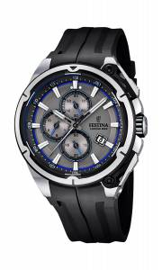 フェスティナ Festina Chrono Bike 2015 Men's Quartz Watch with Grey Dial Chronograph F16882/3