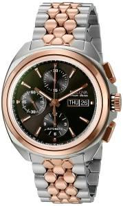 [ブローバ]Bulova 腕時計 Accu Swiss Mechanical Hand Wind Two Tone Watch 65B168 メンズ