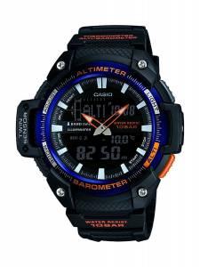 [カシオ]Casio 腕時計 Sports SGW450H2B Black Rubber Quartz Watch SGW-450H-2BER メンズ