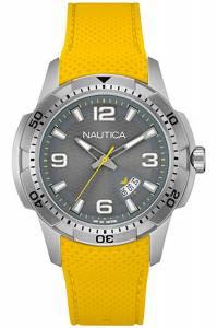 [ノーティカ]Nautica 腕時計 Silver Dial Watch NAI12520G メンズ [並行輸入品]