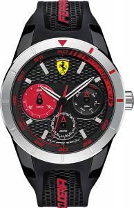 [フェラーリ]Ferrari 腕時計 Analog Casual Quartz Watch NWT 0830254 Red Rev T メンズ
