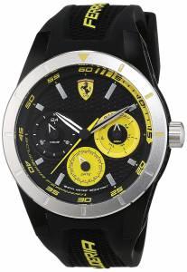 [フェラーリ]Ferrari 腕時計 Analog Casual Quartz Watch 0830257 Red Rev T メンズ