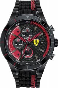 [フェラーリ]Ferrari 腕時計 Analog Dress Quartz Watch NWT 0830260 Red Rev Evo メンズ