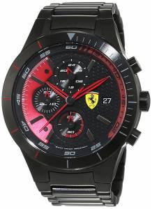 [フェラーリ]Ferrari 腕時計 Scuderia REDREV Black Watch 0830264 Red Rev Evo メンズ