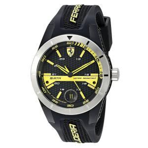 [フェラーリ]Ferrari  Scuderia Analog Casual Quartz Watch NWT 0830277 Red Rev T メンズ