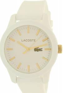 [ラコステ]Lacoste 腕時計 Poloshirt 2010819 Wristwatch Silicone strap LACOSTE.12.12 メンズ