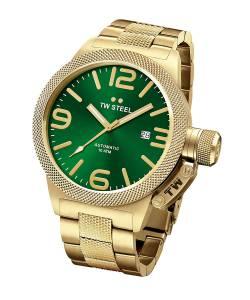 [ティーダブルスティール]TW Steel  Analog Display Quartz Yellow Watch CB226 メンズ