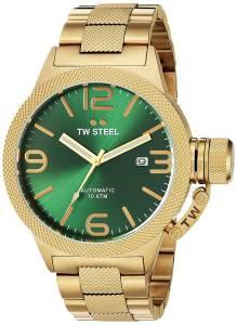 [ティーダブルスティール]TW Steel  Analog Display Quartz Yellow Watch CB225 メンズ