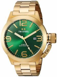 [ティーダブルスティール]TW Steel  Analog Display Quartz Yellow Watch CB222 メンズ