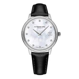 [レイモンドウィル]Raymond Weil Toccata Mother of Pearl Diamond Dial Watch 5388-SLS-97081