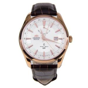 [オリエント]Orient  Polaris GMT Rose Gold Power Reserve Sapphire Watch DJ05001W SDJ05001W