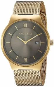 [ブローバ]Bulova  Quartz Stainless Steel Casual Watch, Color:GoldToned 44B110 メンズ