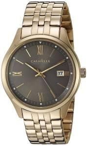 [ブローバ]Bulova  Quartz Stainless Steel Casual Watch, Color:GoldToned 44B111 メンズ