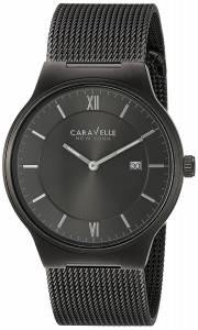 [ブローバ]Bulova 腕時計 Quartz Stainless Steel Casual Watch, Color:Grey 45B140 メンズ