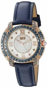 [バージ]Burgi  Rose Gold Quartz Watch With Diamond Mother of Pearl Swarovski Crystal BUR156BU
