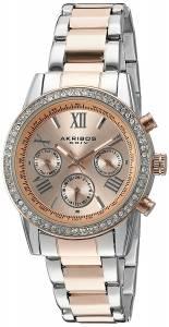 [アクリボス XXIV]Akribos XXIV 腕時計 TwoTone Swiss Quartz Watch AK872TTR レディース