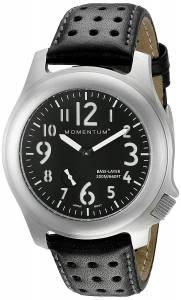 [モーメンタム]Momentum  Base Layer Analog Display Japanese Quartz Black Watch 1M-SP76B3B