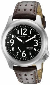 [モーメンタム]Momentum  Base Layer Analog Display Japanese Quartz Brown Watch 1M-SP76B3C