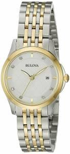 [ブローバ]Bulova 腕時計 14mm Two Tone Stainless Steel Watch Bracelet 98P148 [並行輸入品]