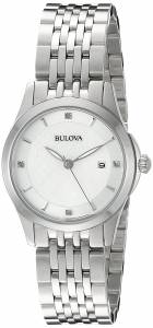 [ブローバ]Bulova 腕時計 14mm Stainless Steel Silver Watch Bracelet 96P160 レディース