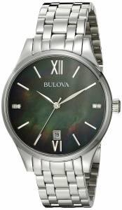 [ブローバ]Bulova 腕時計 16mm Stainless Steel Silver Watch Bracelet 96P162 [並行輸入品]