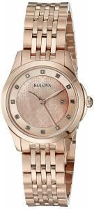 [ブローバ]Bulova 腕時計 14mm Rose Gold Rose Gold Watch Bracelet 97P112 レディース