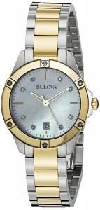 [ブローバ]Bulova 腕時計 13mm Two Tone Stainless Steel Two Tone Watch Bracelet 98R217
