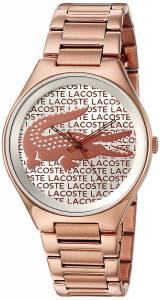 [ラコステ]Lacoste  Valencia Analog Display Japanese Quartz Rose Gold Watch 2000929