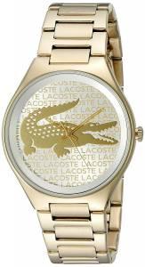 [ラコステ]Lacoste  Valencia Analog Display Japanese Quartz Gold Watch 2000930 レディース