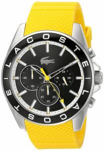 [ラコステ]Lacoste  Westport Analog Display Japanese Quartz Yellow Watch 2010852 メンズ