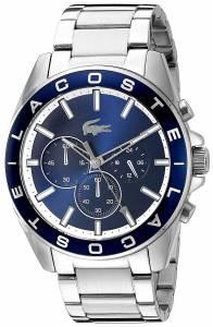 [ラコステ]Lacoste  Westport Analog Display Japanese Quartz Silver Watch 2010856 メンズ
