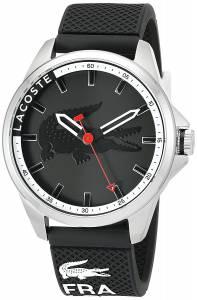 [ラコステ]Lacoste  Capbreton Analog Display Japanese Quartz Black Watch 2010840 メンズ